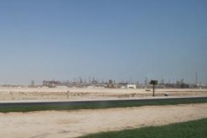 kegiatan Konstruksi di Ras Laffan Industrial City
