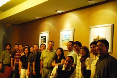 OE/HES Team - ki.ka. Yudi, Erwindra,Oke, Albert, Dewi, Istriku (Early), Yong, Wahyu, Greg, Riri, Sidik, Alvin A, Alvin R, Arna, Edy, Arief