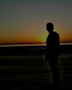 Me, Sunset & Zikreet Beach - (with after-shoot touch)