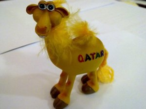 Cute camel souvenirs