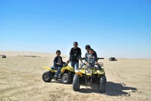 ATV and Us at Sealine Beach