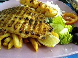 Shrimps Hamour Grill