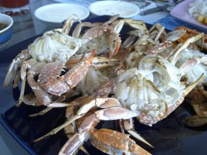 Crabs Grilled