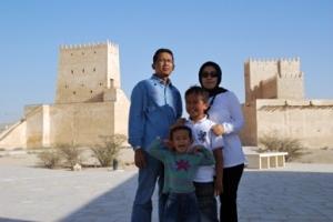 Keluarga Wahyu at Barzan Tower