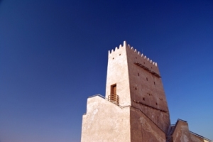 One of the two Barzan Towers