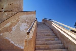 Stairway to Barzan Tower