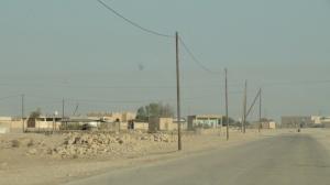 Al Kharsaah village - end of asphalt road
