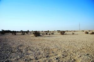 Area near Musfer Sinkhole