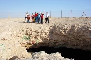 IPASQ Team on Musfer Sinkhole