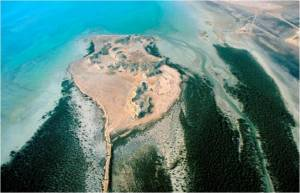 Aerial Phot of Al Khor Island (Source: QNHG website)