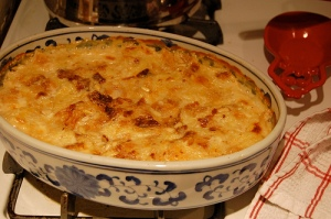 Umm Ali  - an Egyptian bread and butter pudding (Source: stolen from desertcandy.blogspot.com)