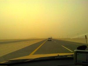 Saudi Arabia Road to UAE
