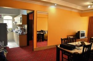 Inside 3-bedroom apartment