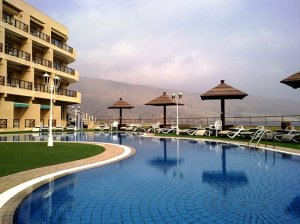 Golden Tulip Resort Khasab - Swimming Pool and Playground Area