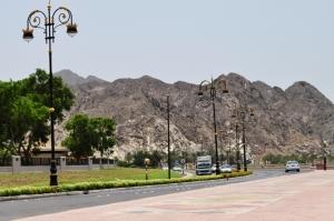 Corniche road near Riyam Park