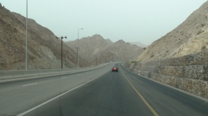 A spectacular drive to Qantab Beach through the mountains with remarkable view