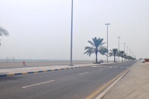 Corniche Street from Fujairan to Kalba