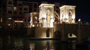 Souk Al Bahar next to The Dubai Mall