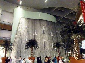 Waterfall at the Dubai Mall