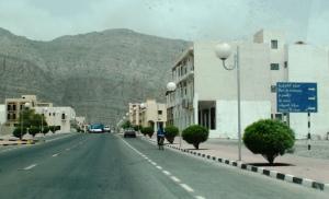 A quiet Khasab street