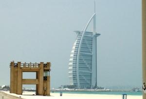 Burj Al Arab from Jumeirah Public Beach