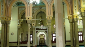 Inside Jumeirah Mosque. Though missed the organized tour we're allowed to enter for couple of shots