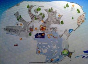 Snow Park Map