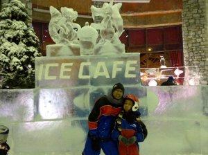Ice Cafe at Ski Dubai