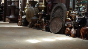Among those sold at Souk Madinat Jumeirah is antique item