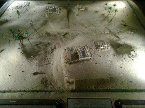 Model of the Jumairah Archaelogical Site