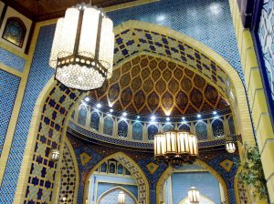 One of the themed courts at Ibn Battuta Mall. Which court do you think it belongs to?