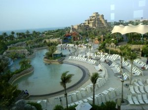 Aquaventure as seen from monorail