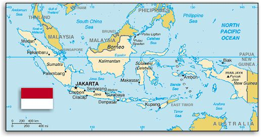 Indonesian archipelago on world map gumiabroncs Gallery