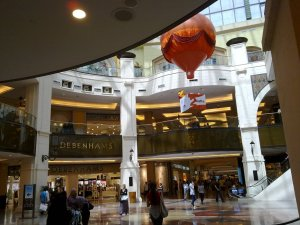 Inside Mall of the Emirates