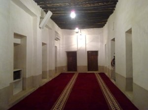 Prayer room inside Simaisma Mosque