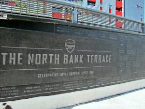 Fans' wall