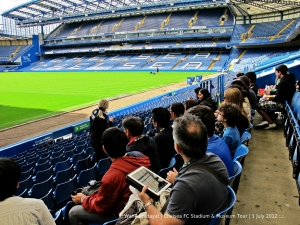Our tour leader asked which football club each of us supports. Of course not Chelsea :p