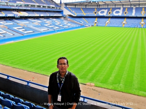 In Stamford Bridge Stadium
