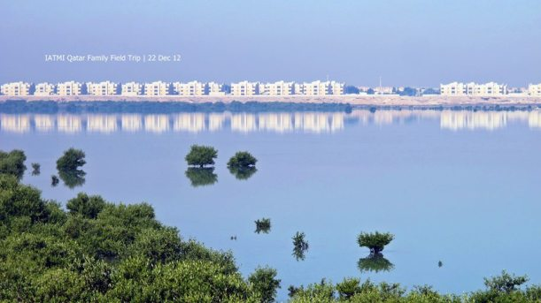 Al Khor Community as seen from the island