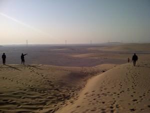 Singing Dunes area