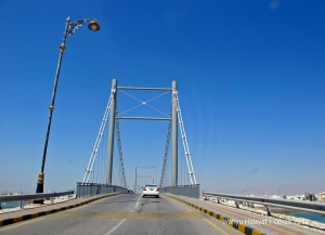 A bridge that links Sur and Al Ayjah