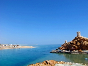 Sur inlet to Sea of Oman