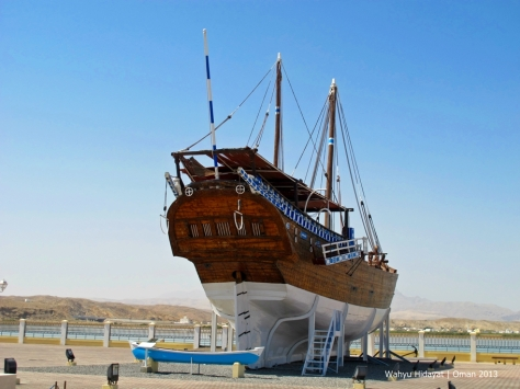 Fatah al Khyr, a fine example of a ghanjah,  one of the largest classes of seagoing dhows