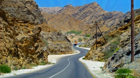 Road to Bandar Al Khiran