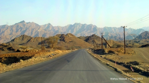 Road to Hatta Pools