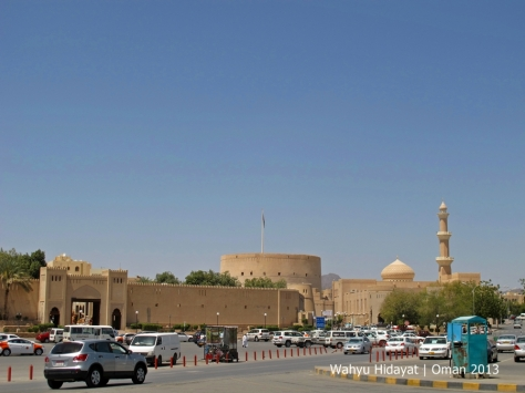 Nizwa City Center - Nizwa Souq, Nizwa Fort and Grand Mosque