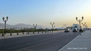Qurm Beach promenade