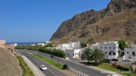 Corniche Road from Gate Museum