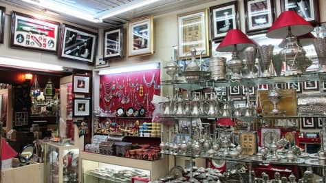 Oman's souvenirs - shown here at Al Qurm Complex