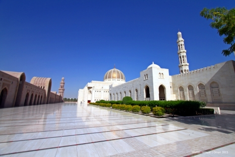 Inner Courtyard - Sultan Qaboos Grand Mosque